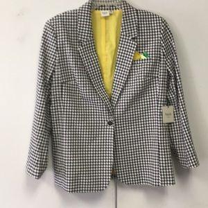 NWT Rafaella Weekend blazer size XL